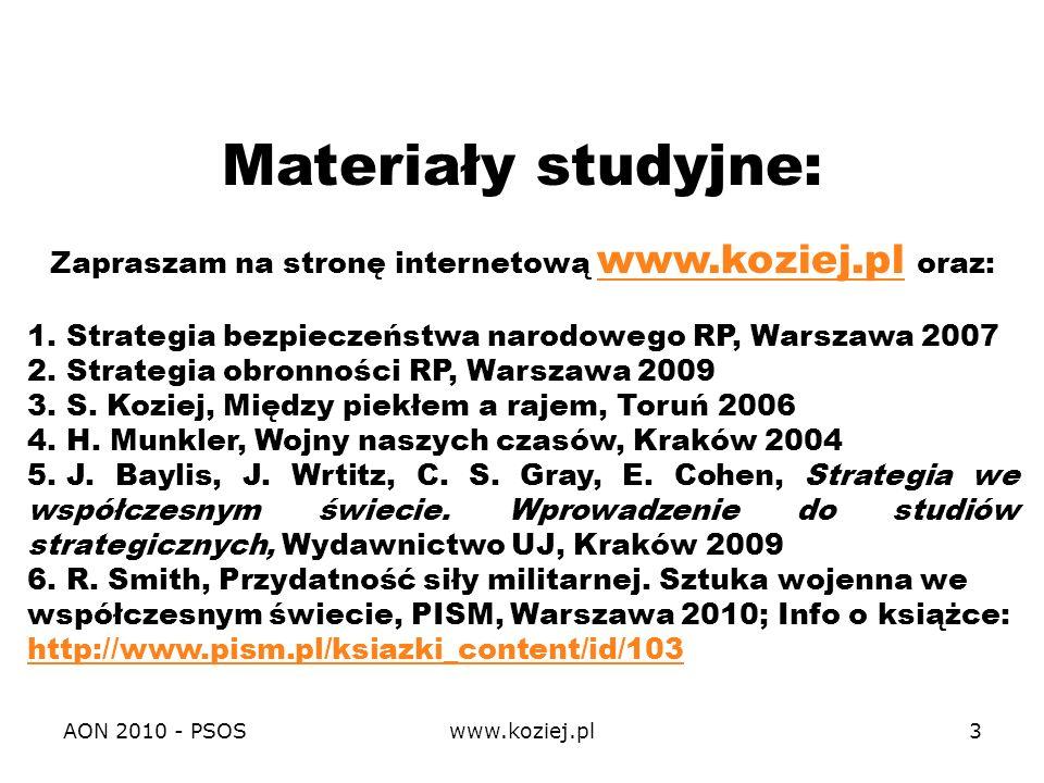 Zapraszam na stronę internetową www.koziej.pl oraz: