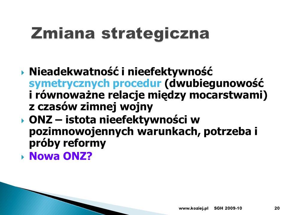 Zmiana strategiczna