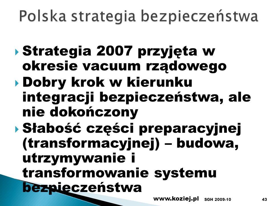 Polska strategia bezpieczeństwa