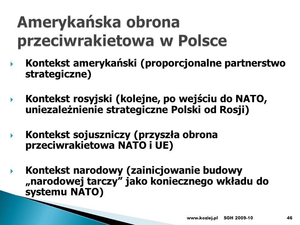 Amerykańska obrona przeciwrakietowa w Polsce