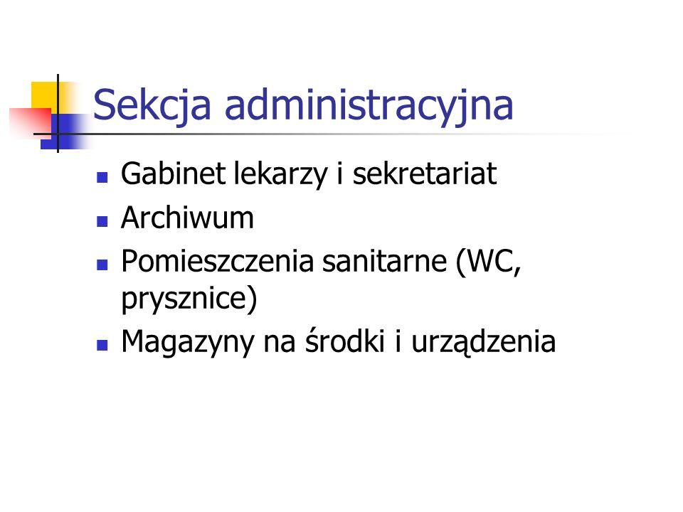 Sekcja administracyjna