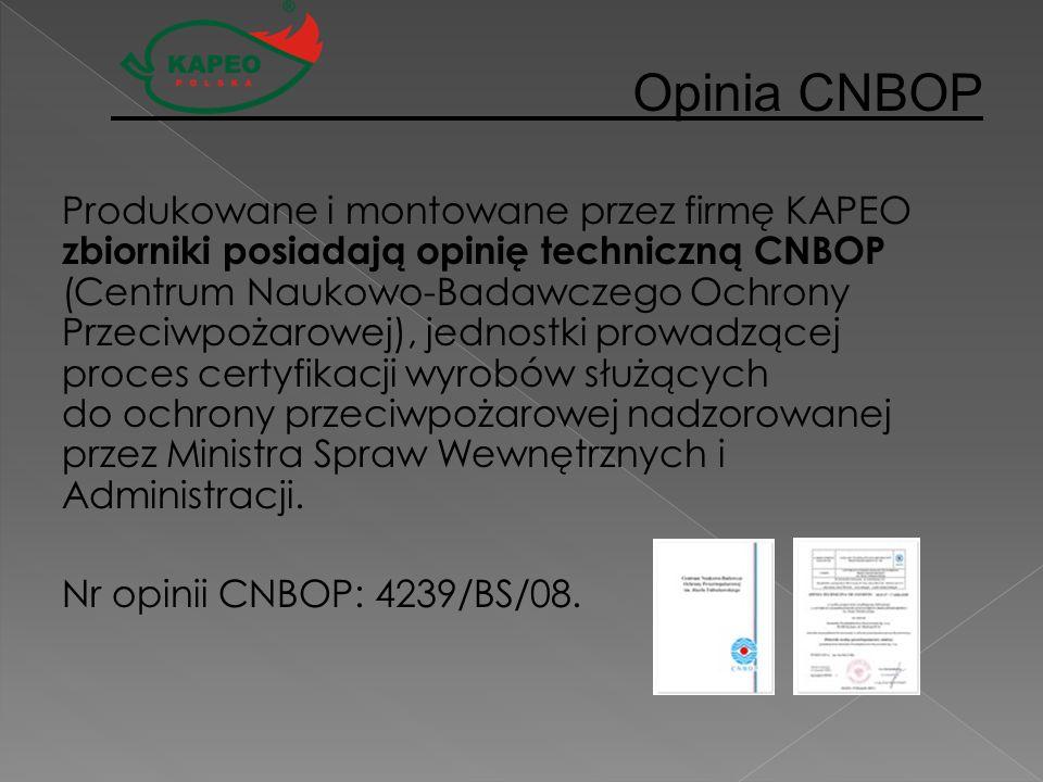 Opinia CNBOP