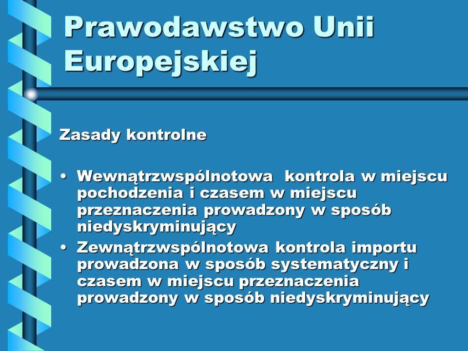 Prawodawstwo Unii Europejskiej