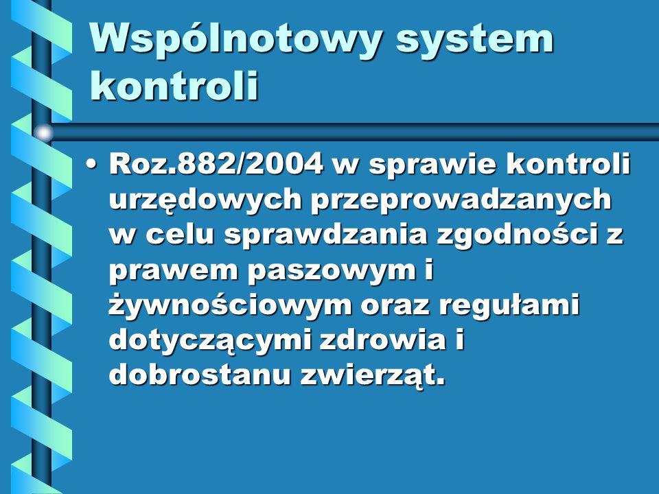 Wspólnotowy system kontroli