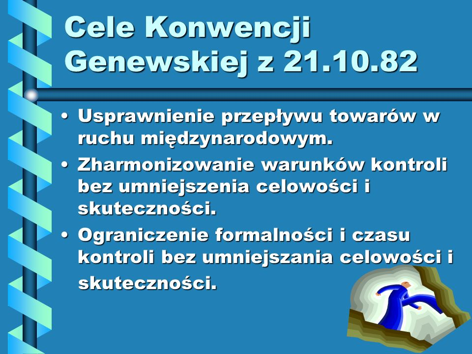 Cele Konwencji Genewskiej z 21.10.82