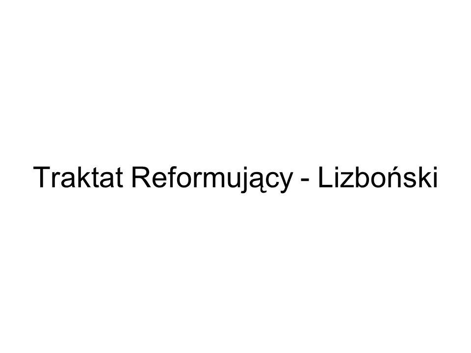 Traktat Reformujący - Lizboński
