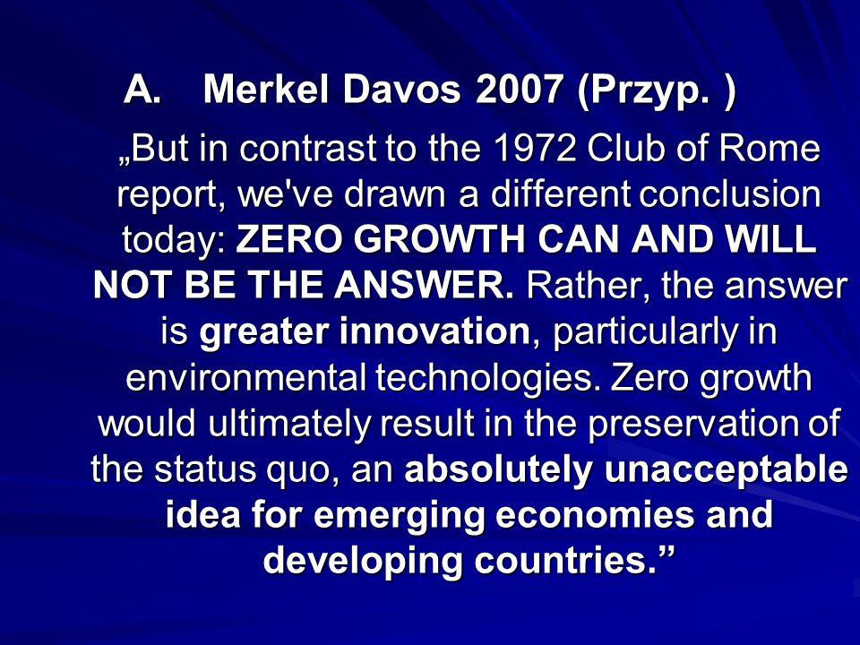 Merkel Davos 2007 (Przyp.