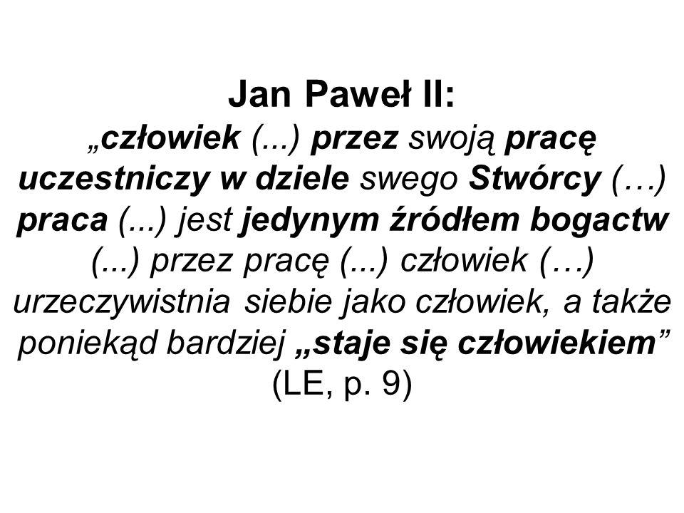 """Jan Paweł II: """"człowiek ("""