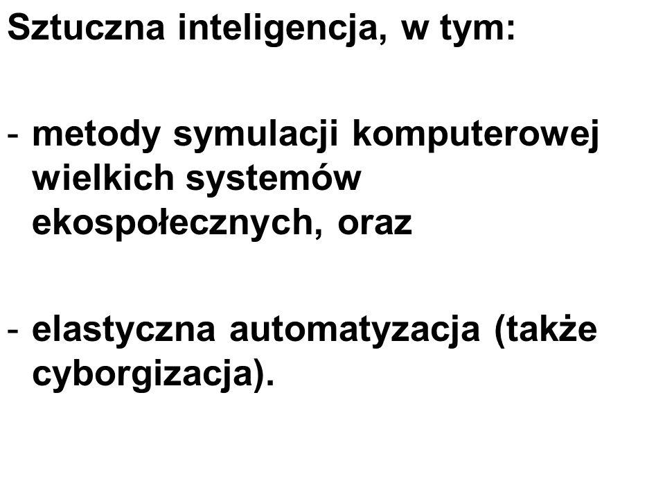 Sztuczna inteligencja, w tym:
