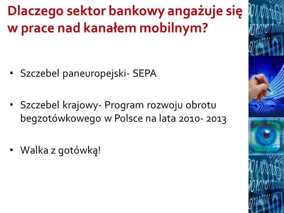 Dlaczego sektor bankowy angażuje się w prace nad kanałem mobilnym