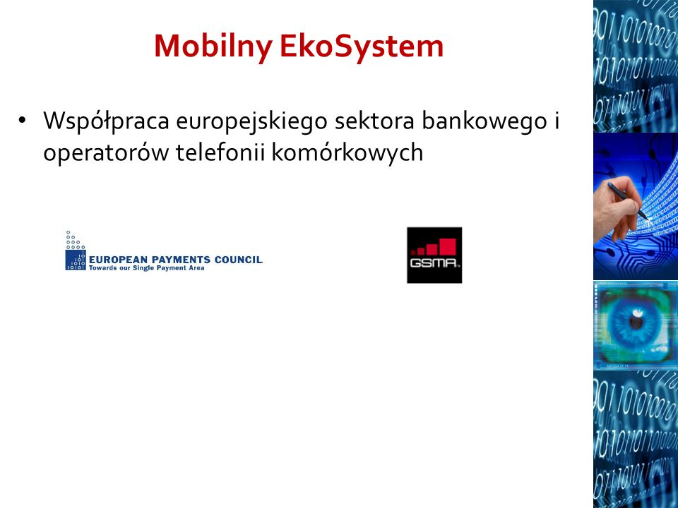 Mobilny EkoSystem Współpraca europejskiego sektora bankowego i operatorów telefonii komórkowych