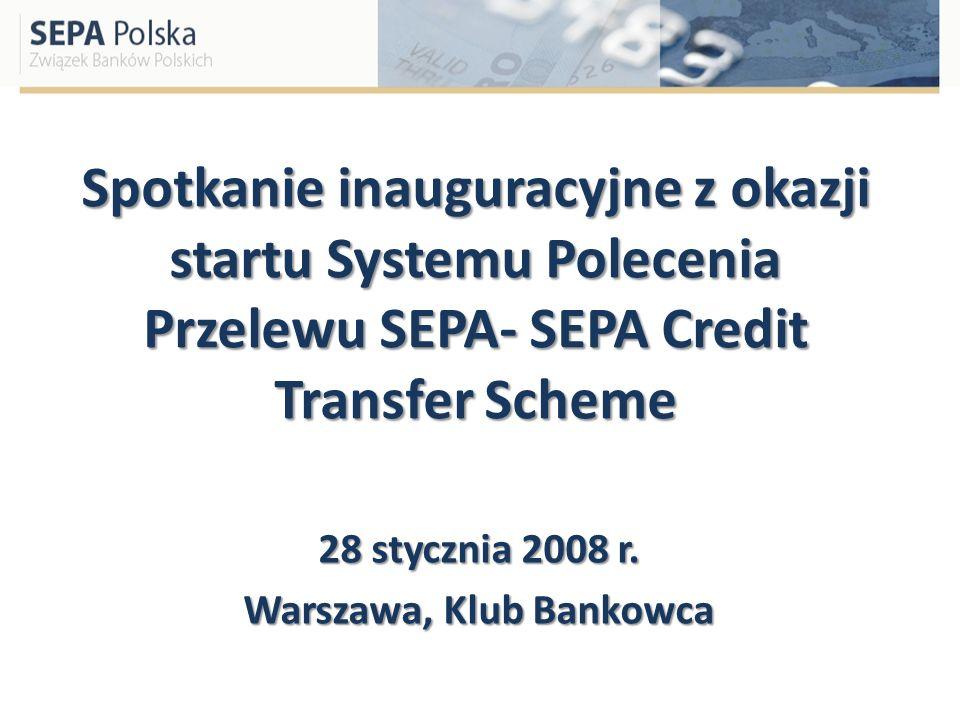 28 stycznia 2008 r. Warszawa, Klub Bankowca