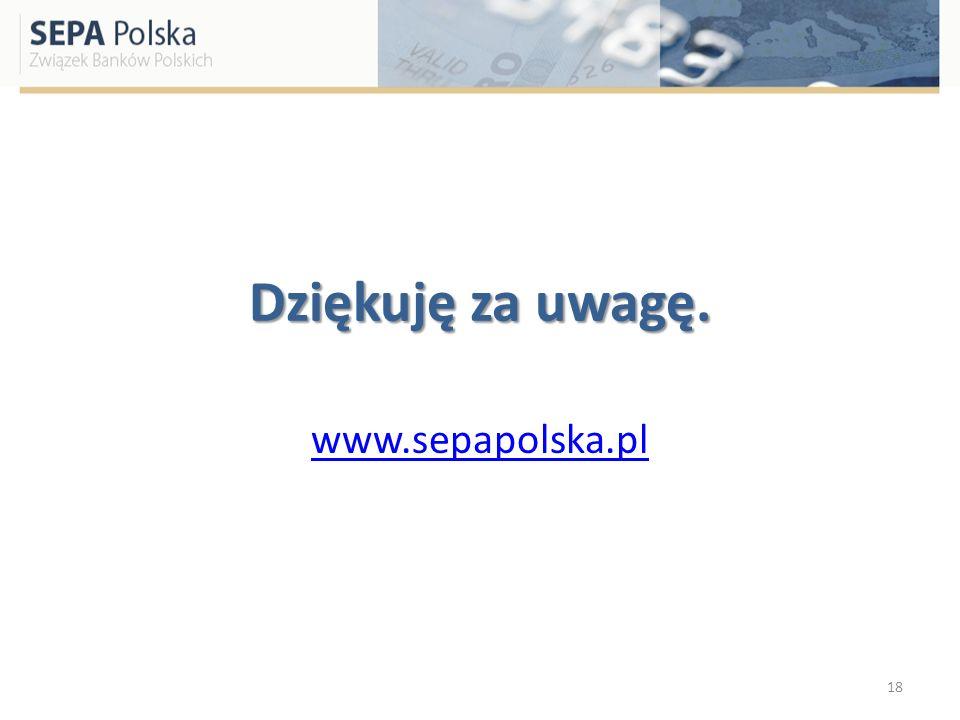 Dziękuję za uwagę. www.sepapolska.pl