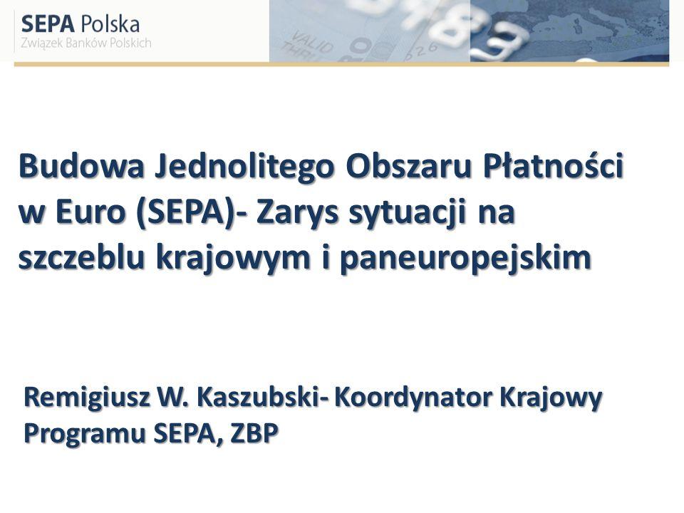 Remigiusz W. Kaszubski- Koordynator Krajowy Programu SEPA, ZBP