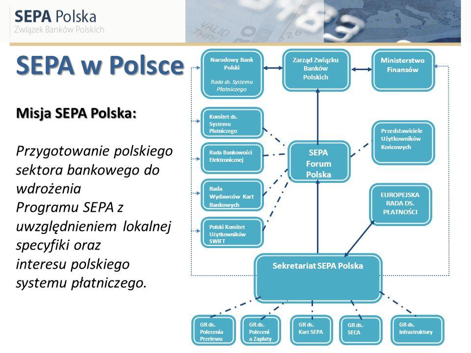 SEPA w Polsce Misja SEPA Polska: