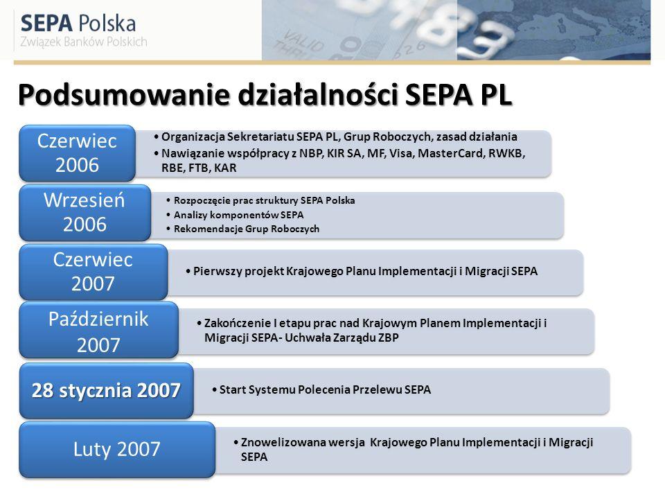 Podsumowanie działalności SEPA PL