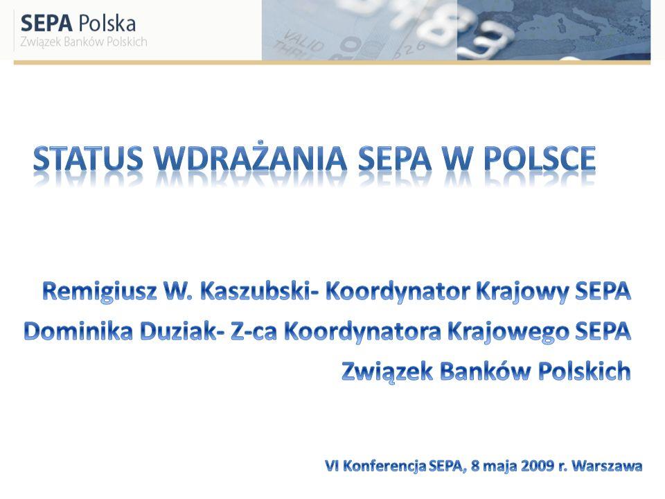 Status wdrażania SEPA w Polsce
