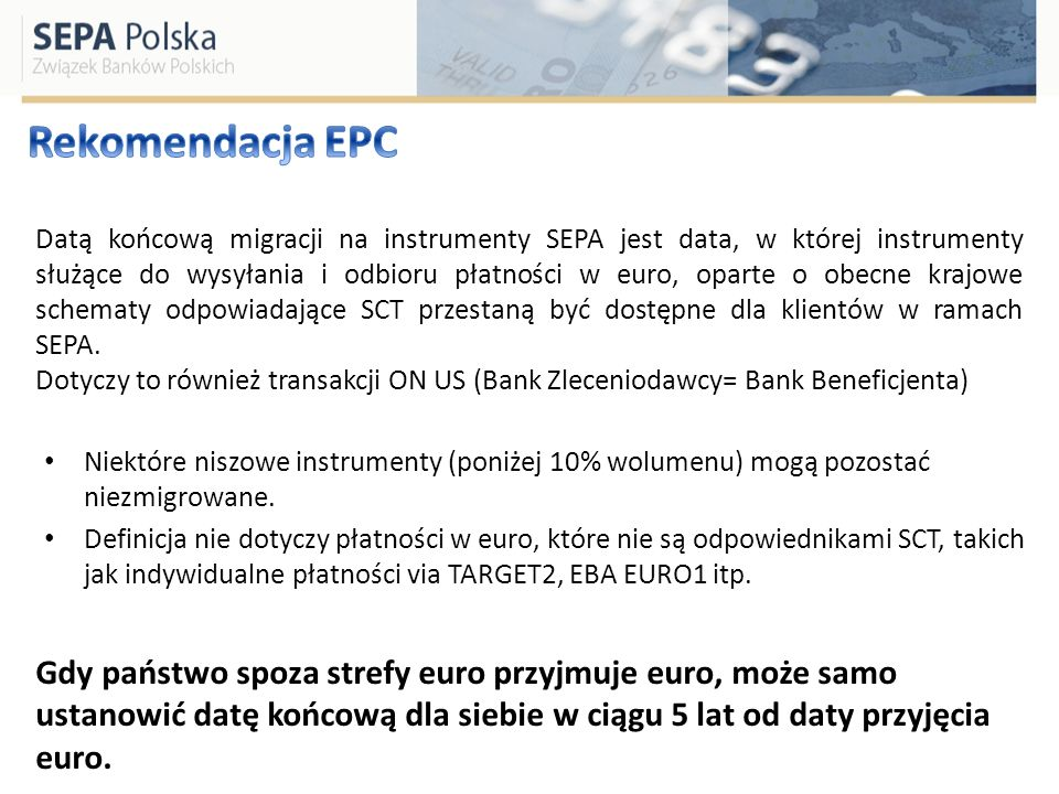 Rekomendacja EPC