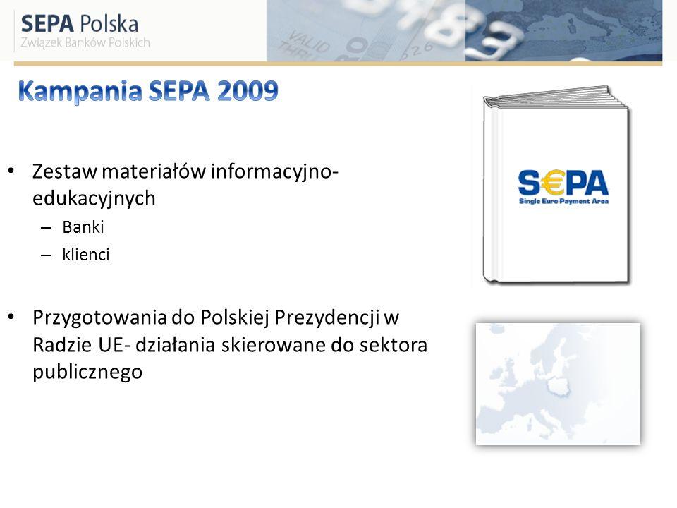 Kampania SEPA 2009 Zestaw materiałów informacyjno-edukacyjnych