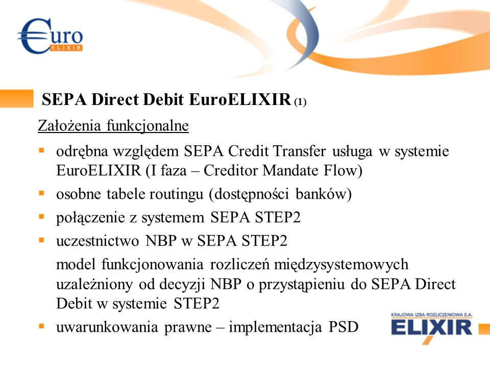 SEPA Direct Debit EuroELIXIR (1)