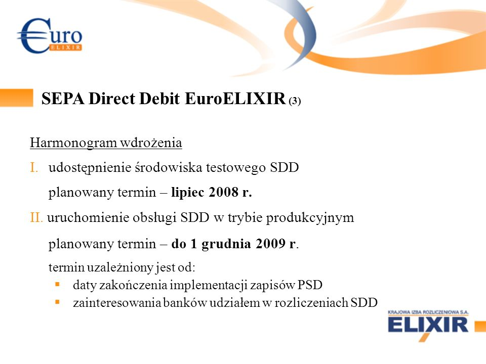 SEPA Direct Debit EuroELIXIR (3)