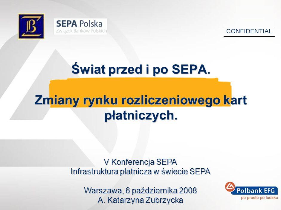 Świat przed i po SEPA. Zmiany rynku rozliczeniowego kart płatniczych.