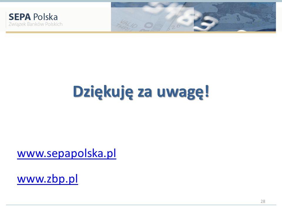 Dziękuję za uwagę! www.sepapolska.pl www.zbp.pl