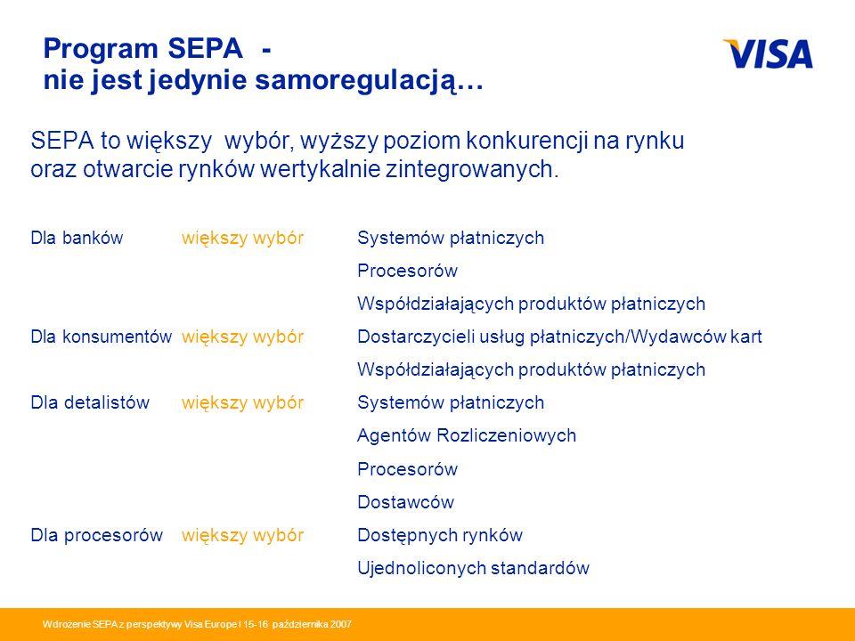 Program SEPA - nie jest jedynie samoregulacją…