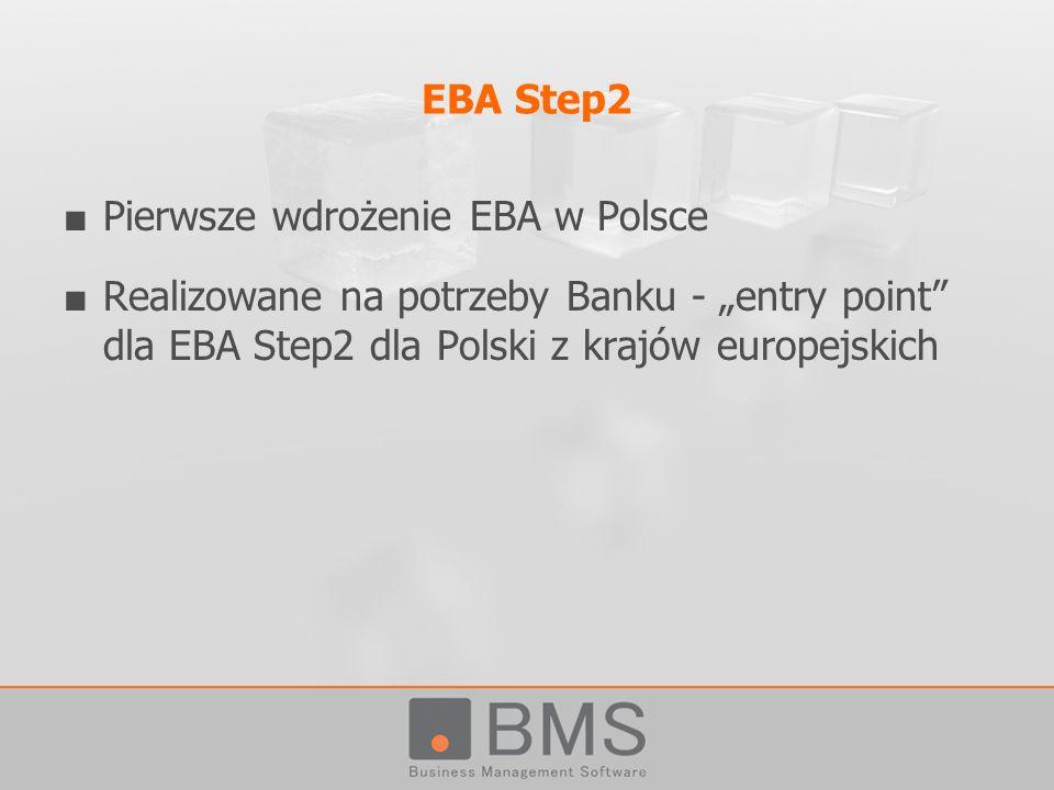 EBA Step2 Pierwsze wdrożenie EBA w Polsce.
