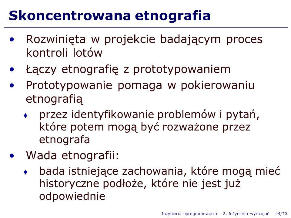 Skoncentrowana etnografia