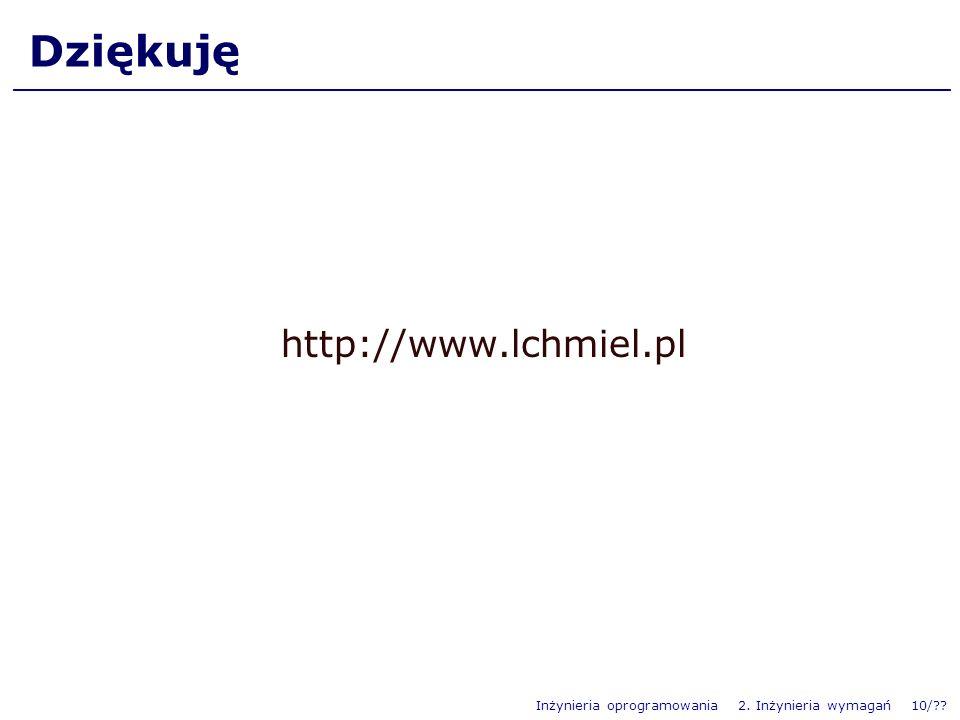 Dziękuję http://www.lchmiel.pl