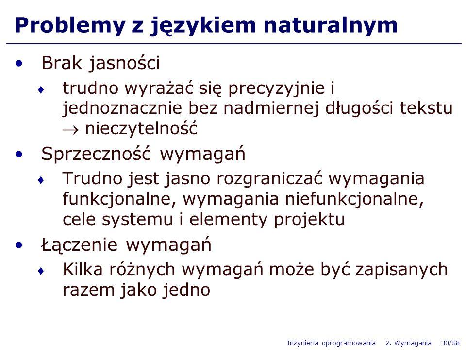 Problemy z językiem naturalnym