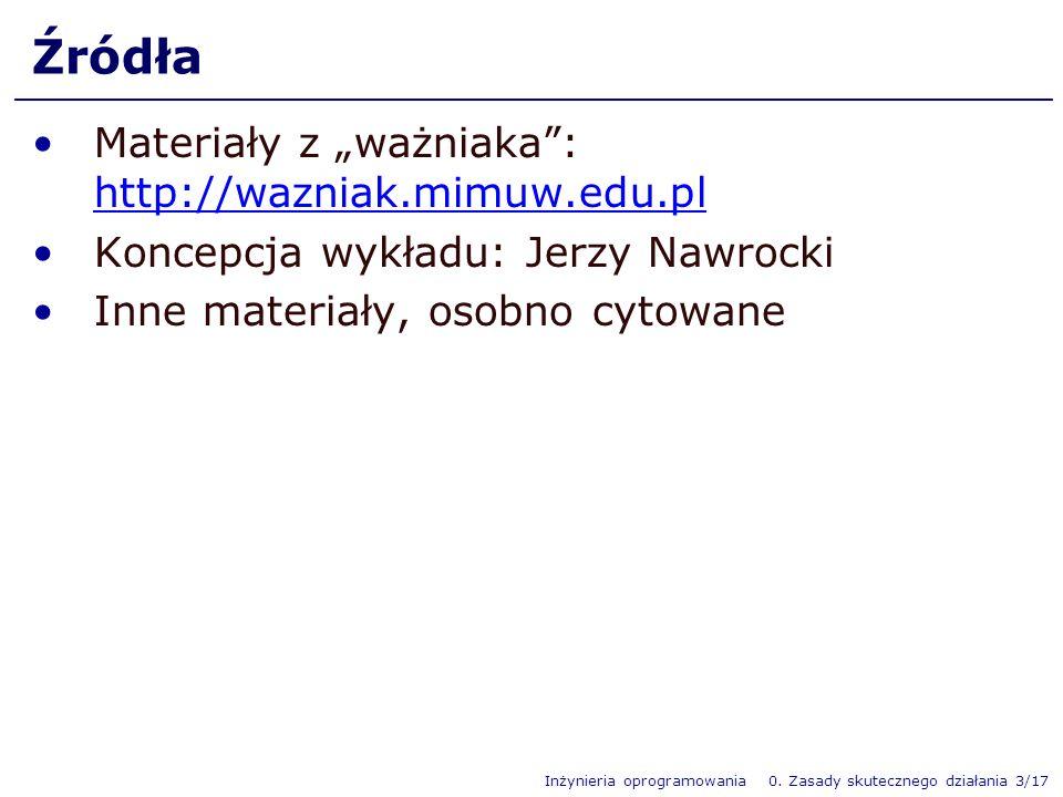 """Źródła Materiały z """"ważniaka : http://wazniak.mimuw.edu.pl"""