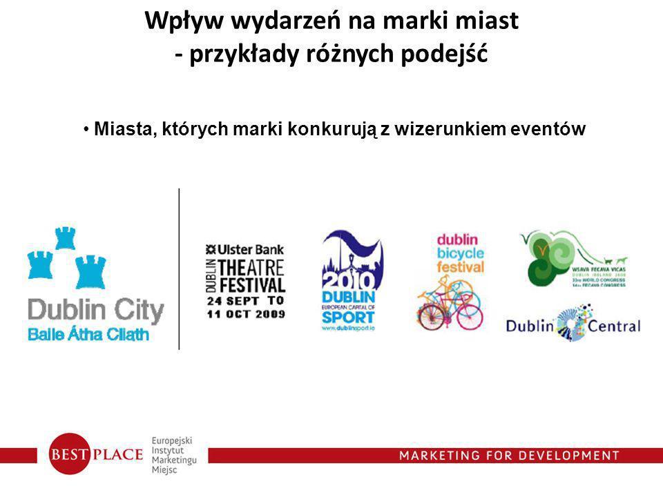 Wpływ wydarzeń na marki miast - przykłady różnych podejść