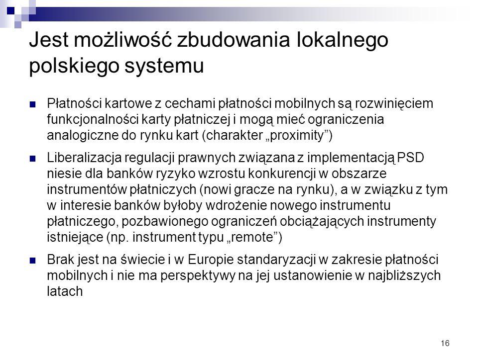 Jest możliwość zbudowania lokalnego polskiego systemu
