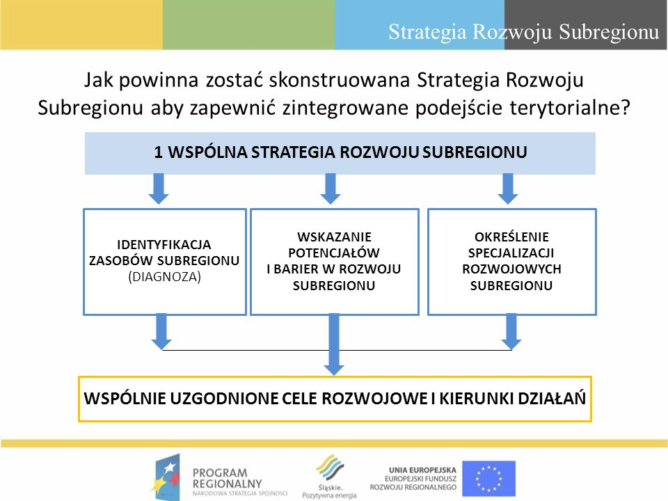Strategia Rozwoju Subregionu