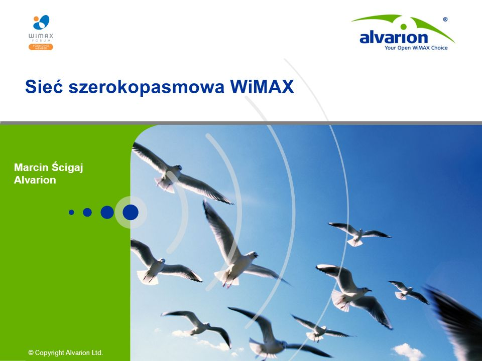 Sieć szerokopasmowa WiMAX
