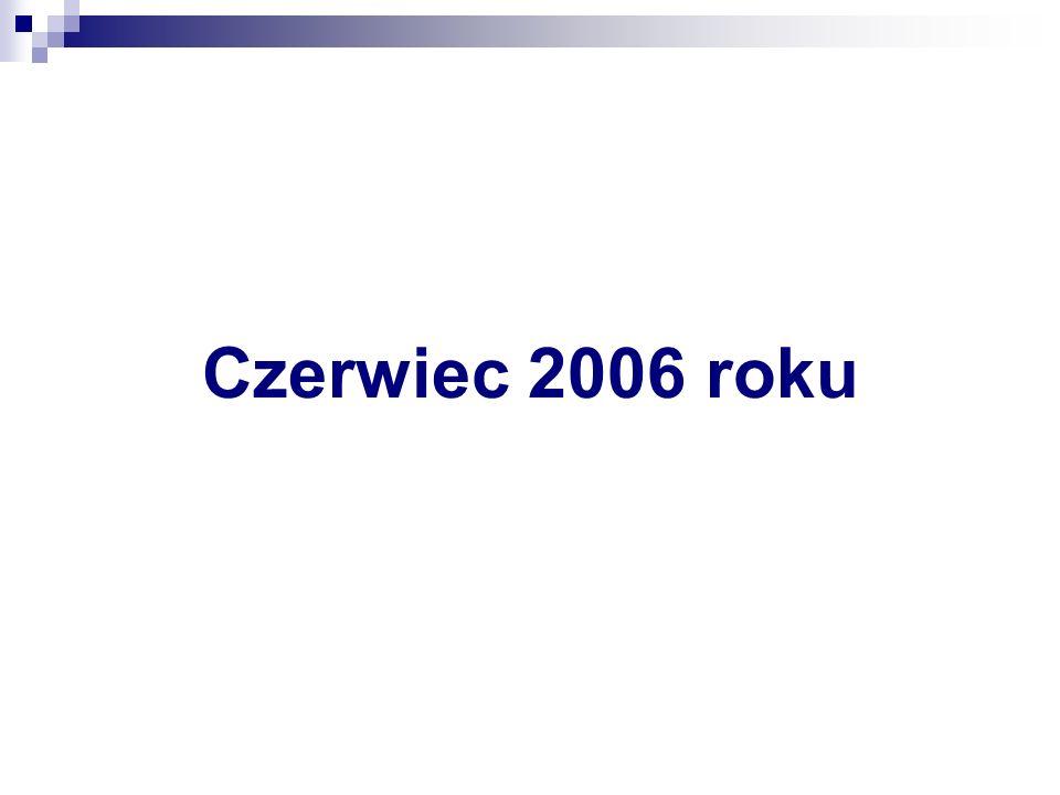 Czerwiec 2006 roku