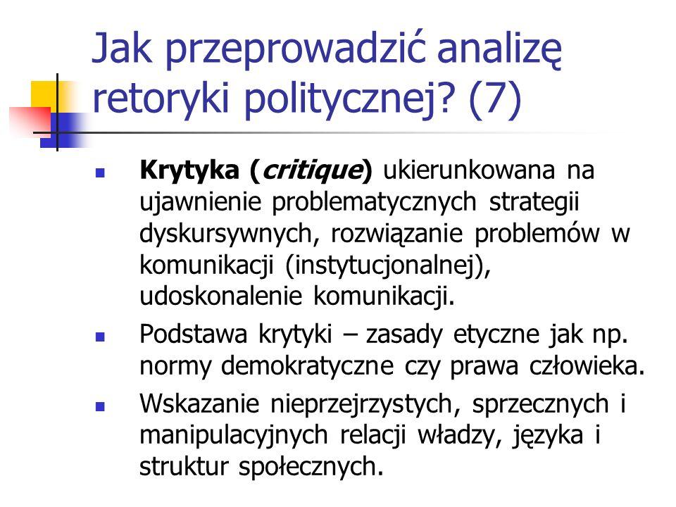 Jak przeprowadzić analizę retoryki politycznej (7)