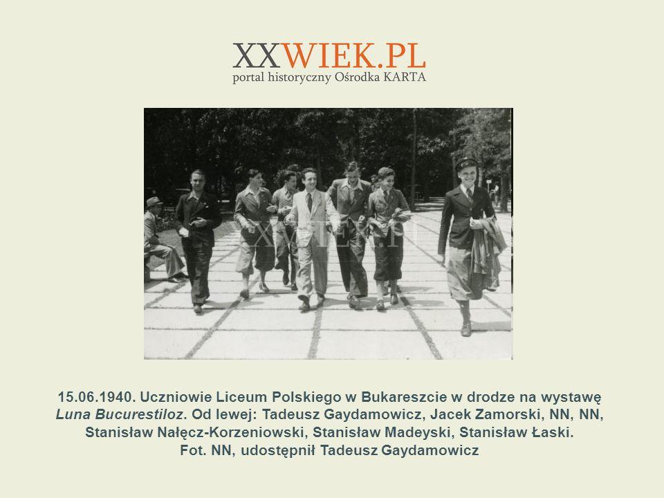 Fot. NN, udostępnił Tadeusz Gaydamowicz