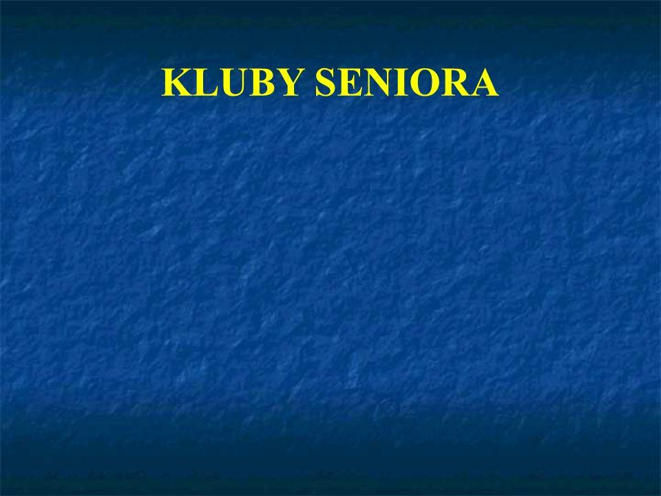 KLUBY SENIORA