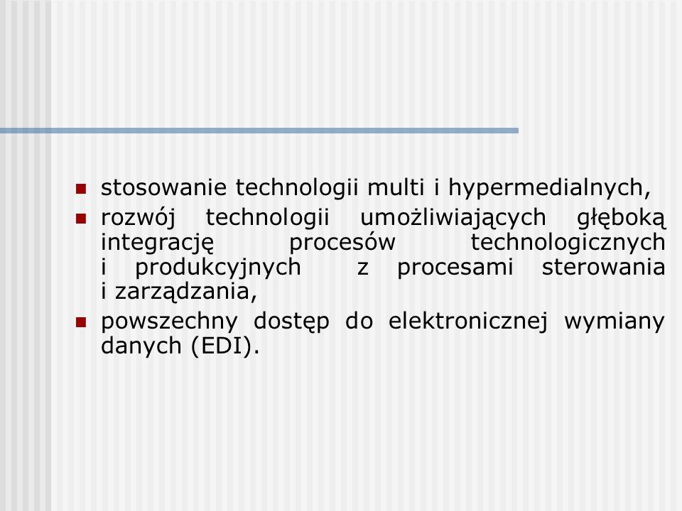 stosowanie technologii multi i hypermedialnych,