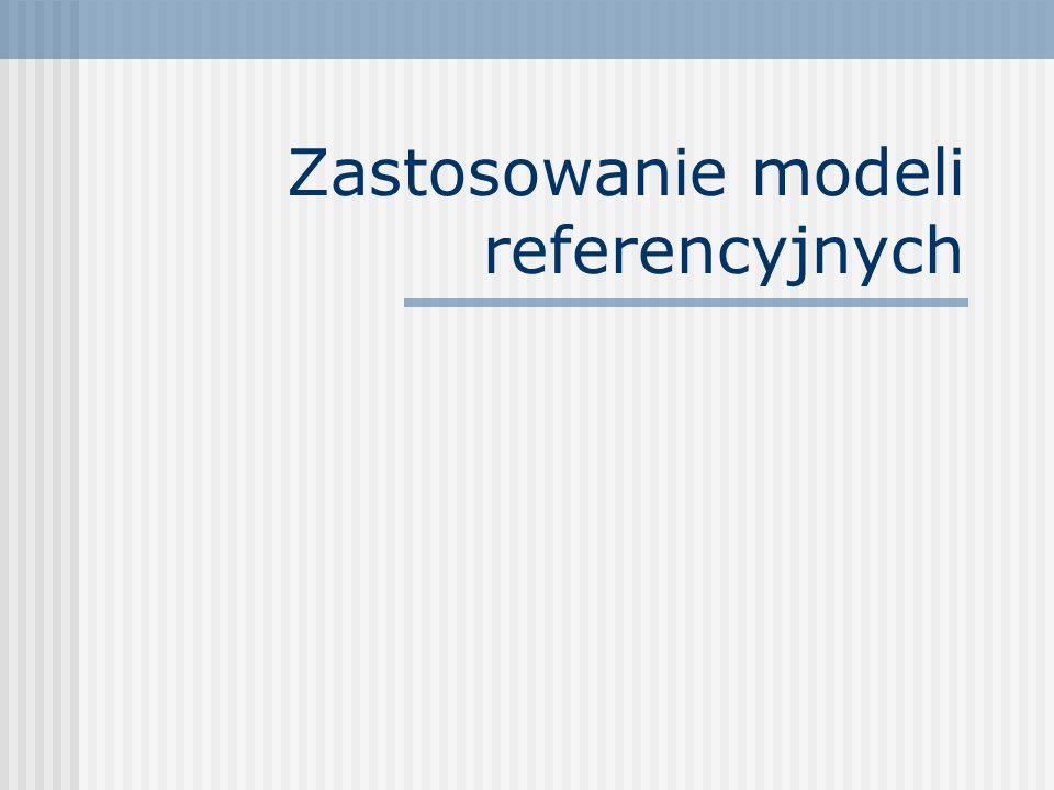 Zastosowanie modeli referencyjnych