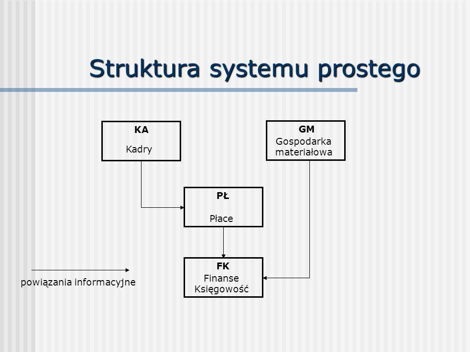 Struktura systemu prostego