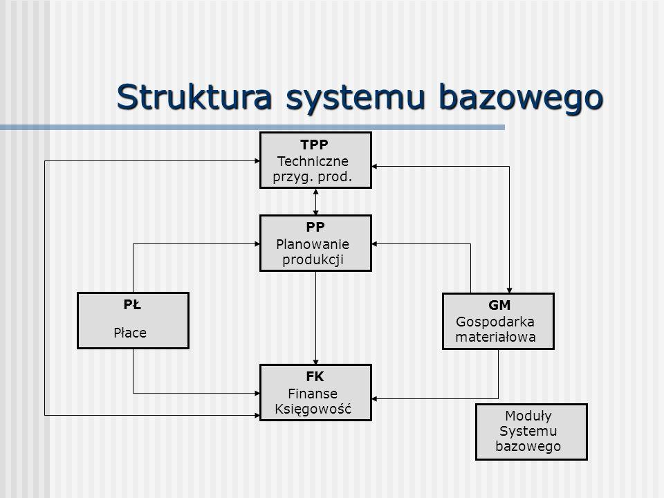 Struktura systemu bazowego