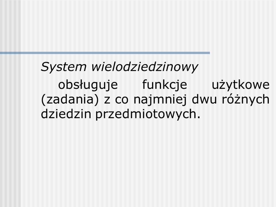 System wielodziedzinowy