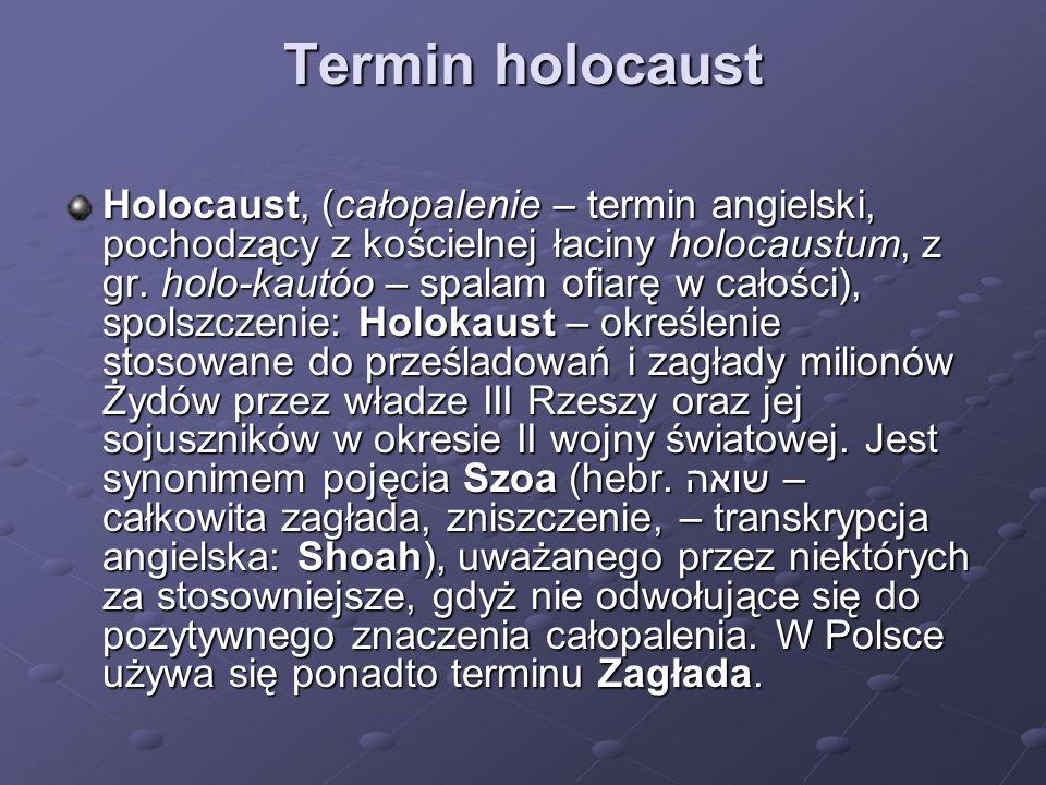 Termin holocaust