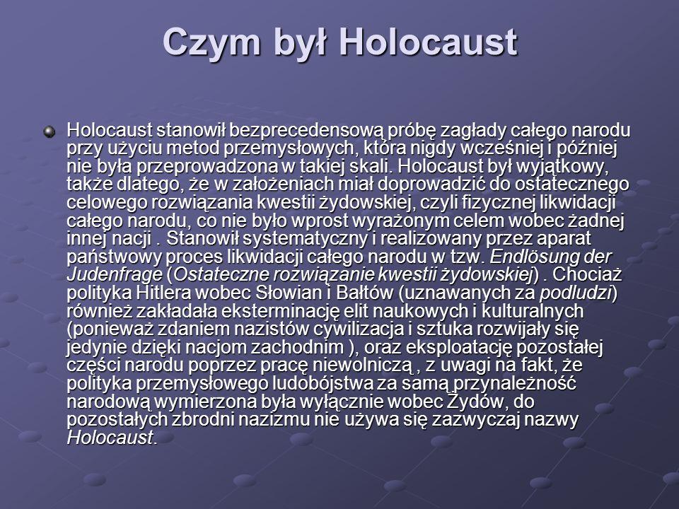 Czym był Holocaust