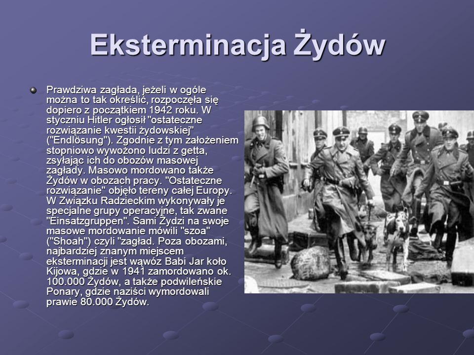 Eksterminacja Żydów