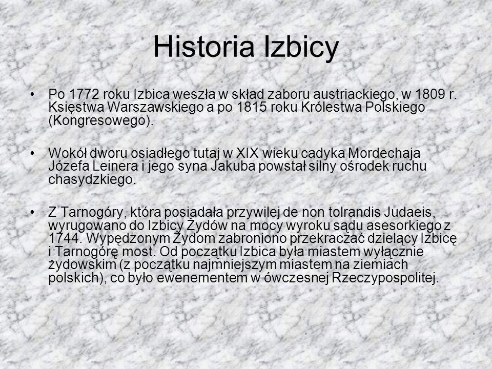 Historia Izbicy